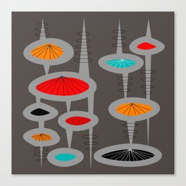 Atomic Space Age Canvas Print
