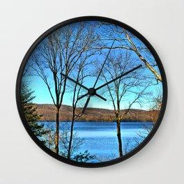 Sterling Lake Wall Clock