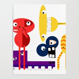A Group of Friends Poster
