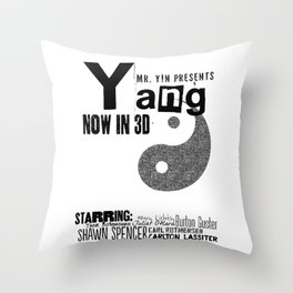 Yang: The Movie Throw Pillow