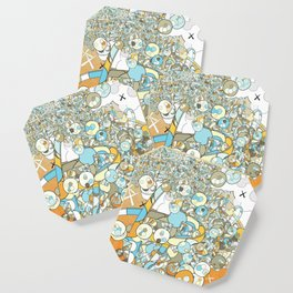 Nested Composition 3 Coaster