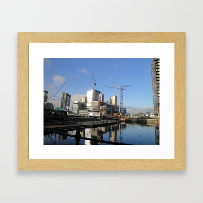 by Media City Framed Art Print