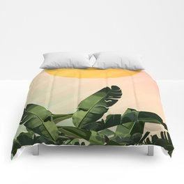 Sunny heliconia Comforters