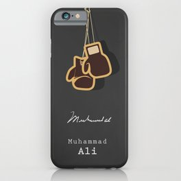 BOXING GREATS iPhone Case