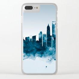 Shanghai Skyline Clear iPhone Case