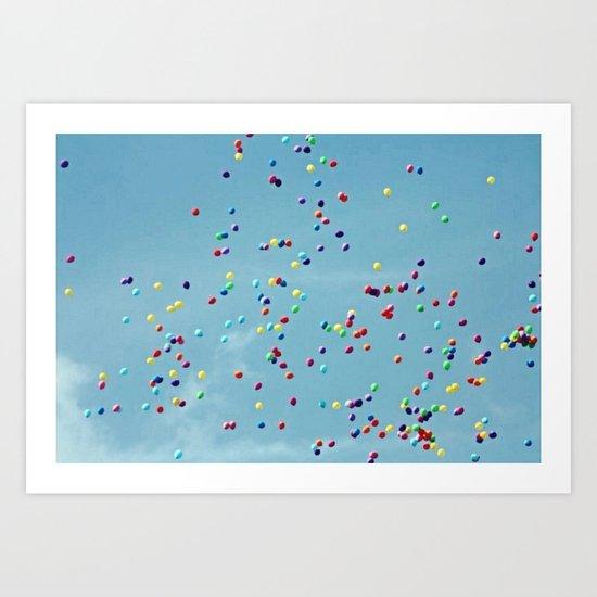 balloooons Art Print