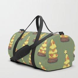 Pizza Xmas Duffle Bag