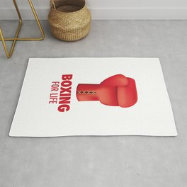 Boxing for Life Rug