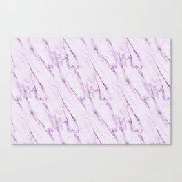 Purple Swirl Marble Canvas Print