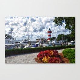 Hilton Head Lighthouse Canvas Print