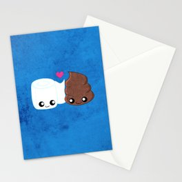 The Best of Friends - Toilet Paper and Poop Stationery Cards