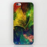 blanket iPhone & iPod Skins featuring Blanket of Stars 2 by Klara Acel