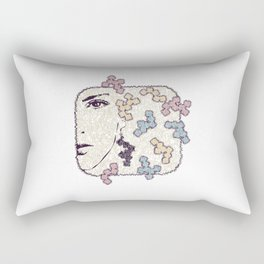 Thorny Snow Rectangular Pillow