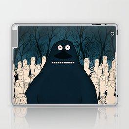 Groke, the moomins Laptop & iPad Skin