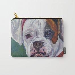 Boxer Dog Portrait Carry-All Pouch
