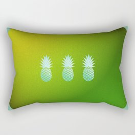 Eternal Circle of Pineapples Rectangular Pillow