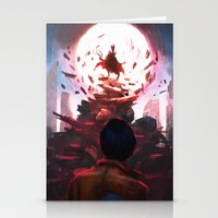 akira Stationery Cards featuring Akira by °thoOm