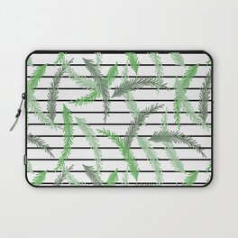 Stripes and Sprigs Laptop Sleeve