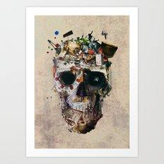 Istanbul Skull 2 Art Print