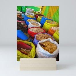 At the Market in Oaxaca, Mexico Mini Art Print