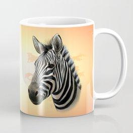African Zebra Coffee Mug