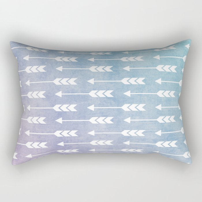 Aztec Pattern 09 Rectangular Pillow