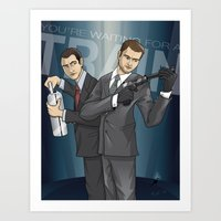 inception Art Prints featuring Inception by Michael Duhamel