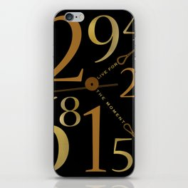 Live For The Moment iPhone Skin