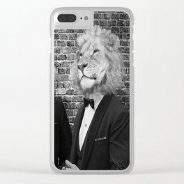Dinner Party Clear iPhone Case