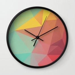 Geometric X Wall Clock