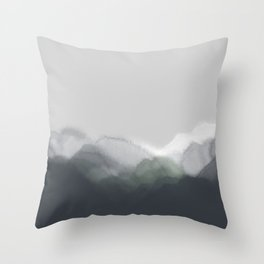 Rustic tranquility #1 Throw Pillow
