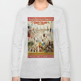 Vintage poster - Circus Long Sleeve T-shirt