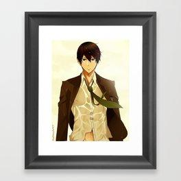 Haruka Nanase Framed Art Print