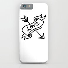 love type banner with arrow Slim Case iPhone 6s