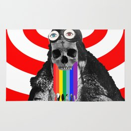 Rainbow Skull Pilot Rug