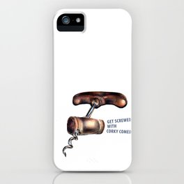 Corky Comedy  iPhone Case