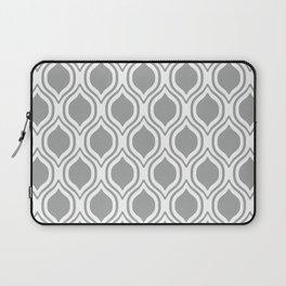 Grey and white Alabama pattern university of alabama crimson tide college Laptop Sleeve