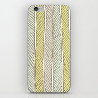 herringbone iPhone & iPod Skins featuring herringbone by wit & whistle