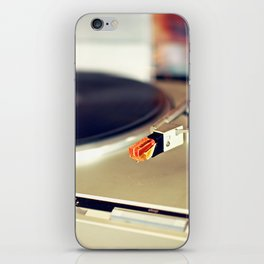 Vinyl Lover iPhone Skin