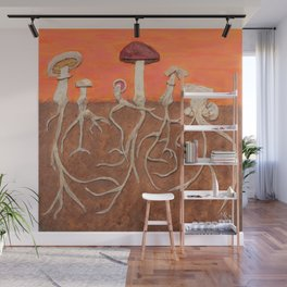 Laughing Shrooms Wall Mural