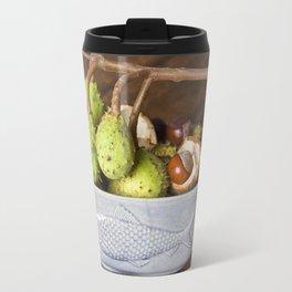 Fresh Chestnuts - AUTUMN STILL LIFE Travel Mug