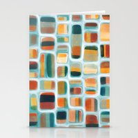 kandinsky Stationery Cards featuring Color apothecary by Efi Tolia