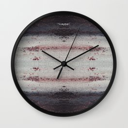 Progession Mash up Wall Clock