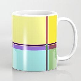 CASUAL YELLOW GEOMETRIC Coffee Mug