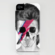 Skull Bowie Slim Case iPhone (4, 4s)