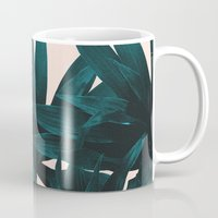 fly Mugs featuring Fly away by Hanna Kastl-Lungberg