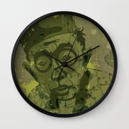 Fu Wall Clock
