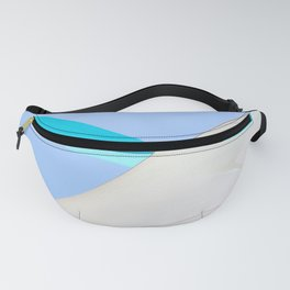 Abstract Sailcloth c1 Fanny Pack