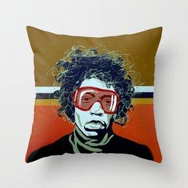 Jimi Apres' Ski Throw Pillow