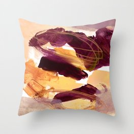 abstract painting XI Throw Pillow